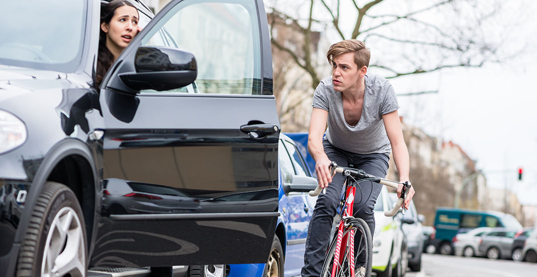 Fine for hitting cyclists while opening car door has quadrupled