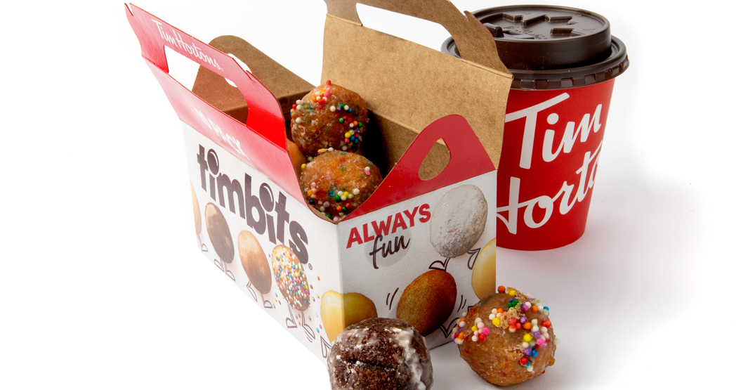 Tim Hortons launches delivery partnership with FREE Timbit offer