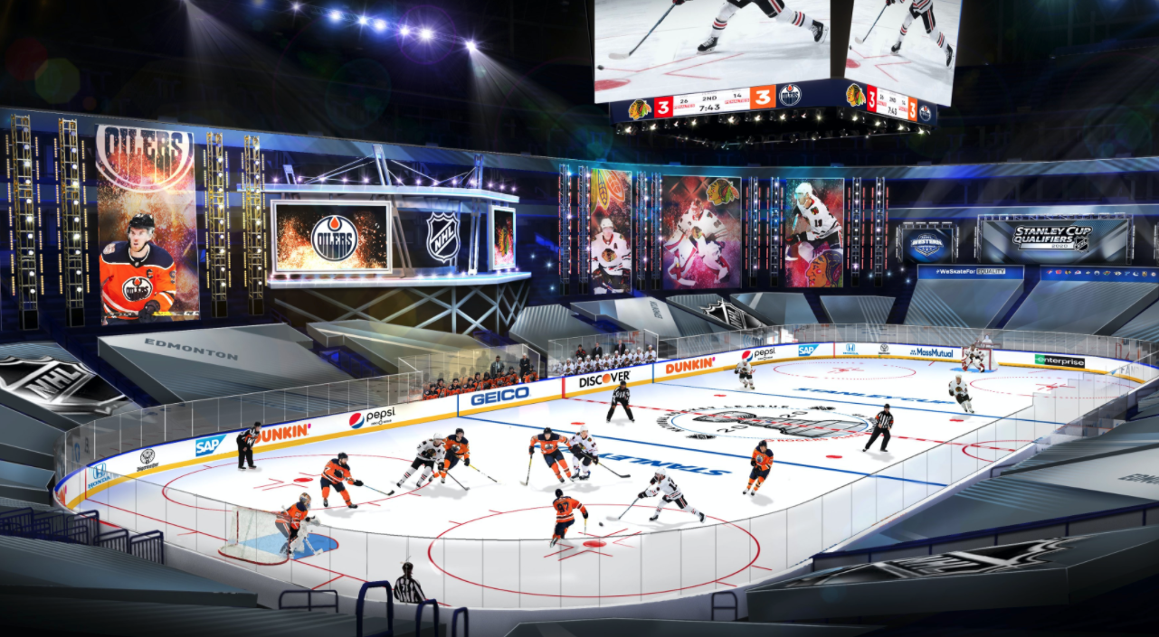 NHL releases details for Toronto and Edmonton hub city bubbles and games