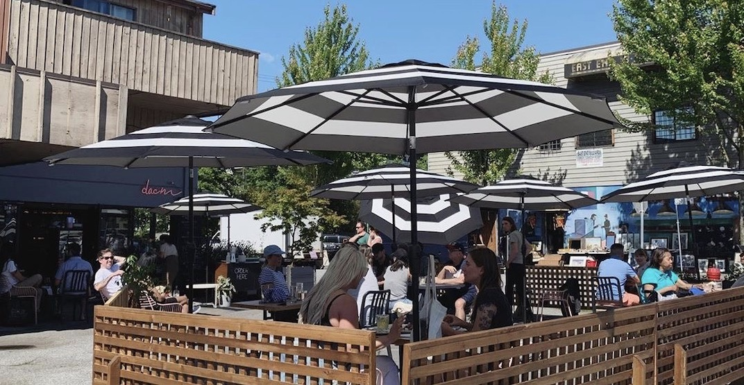 A running list of Vancouver's 280+ temporary restaurant and bar patios