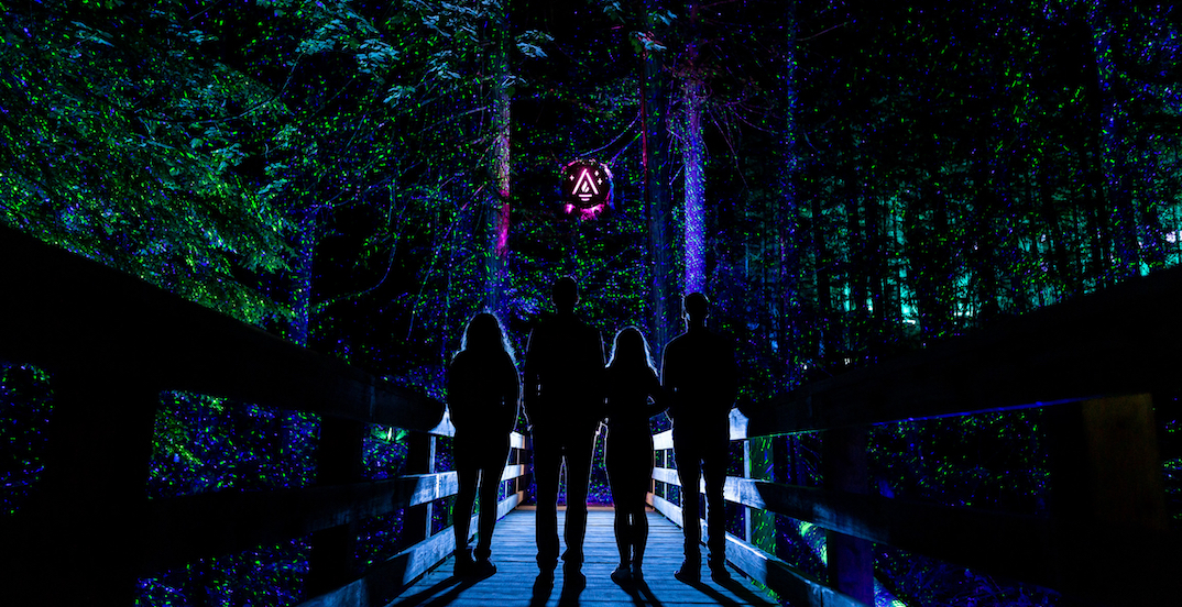 Mont Tremblant's illuminated nature night walk is now open