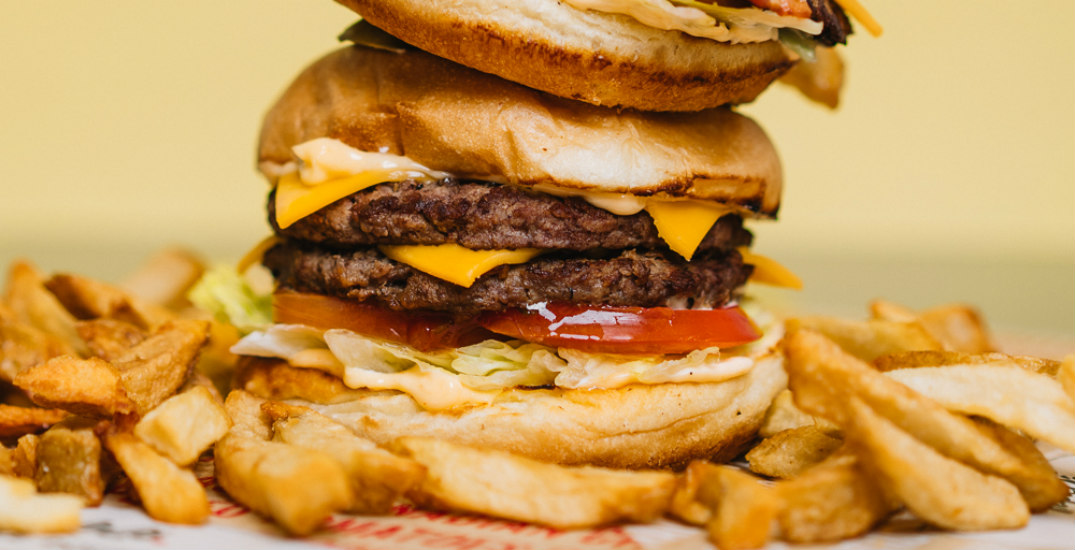 We visited the famous burger spot that just arrived in Calgary