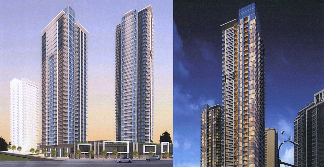 1,200 homes in five buildings proposed next to SkyTrain's Burquitlam Station