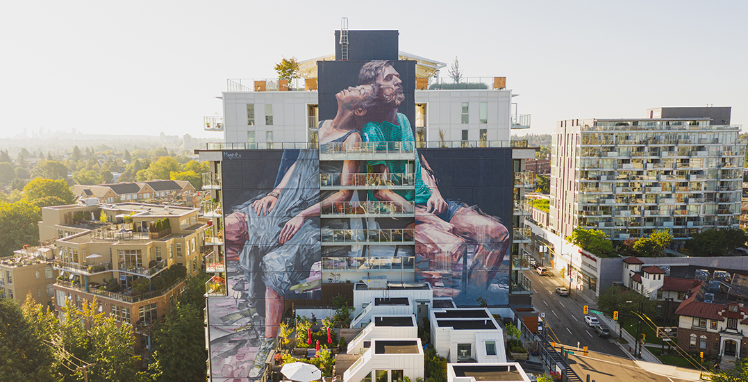 Eight beautiful murals in Mount Pleasant to discover all year round