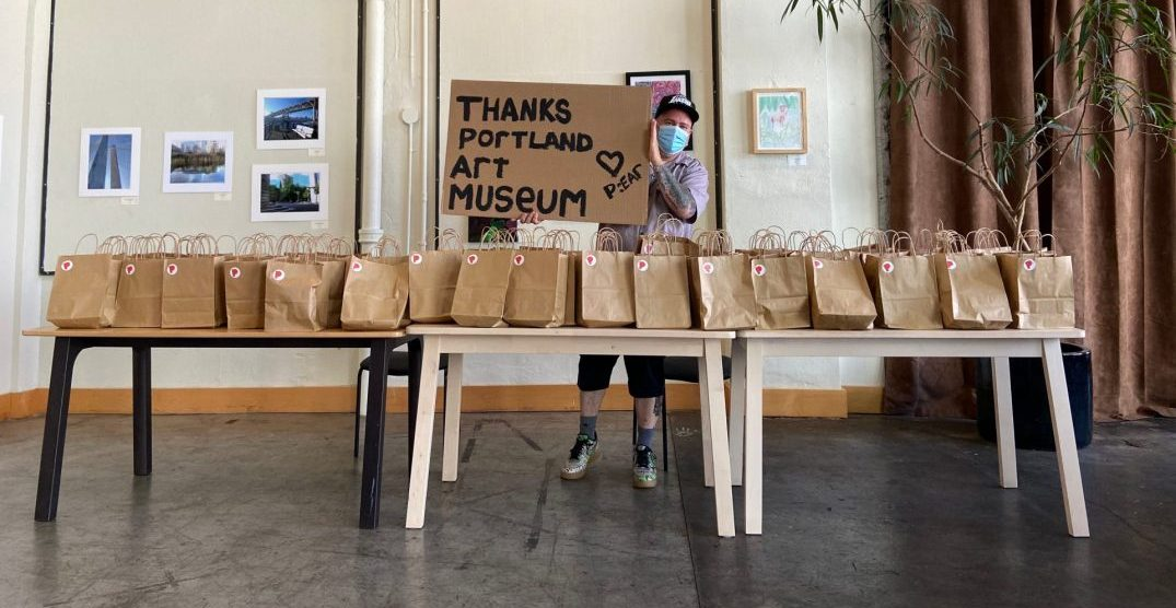 Portland Art Museum distributing art kits to children around the region