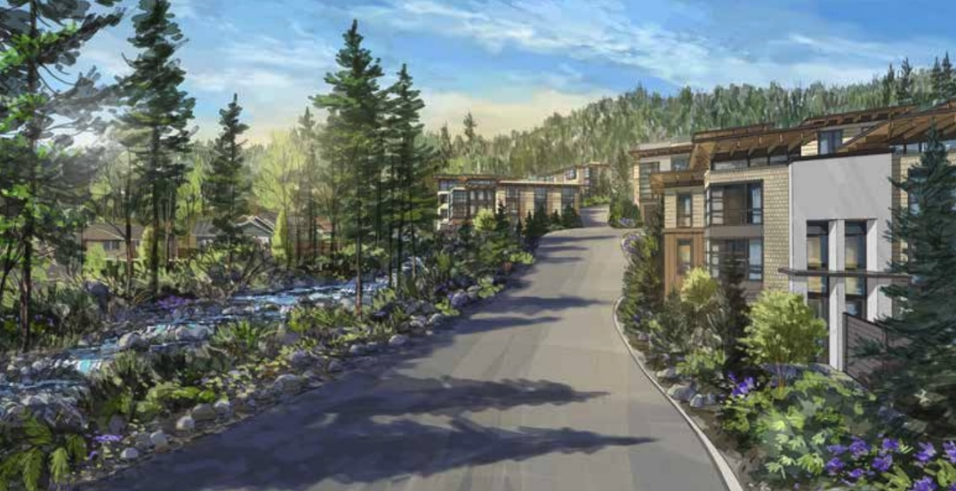 West Vancouver proposal for 67 townhouses replaces plan for mansions