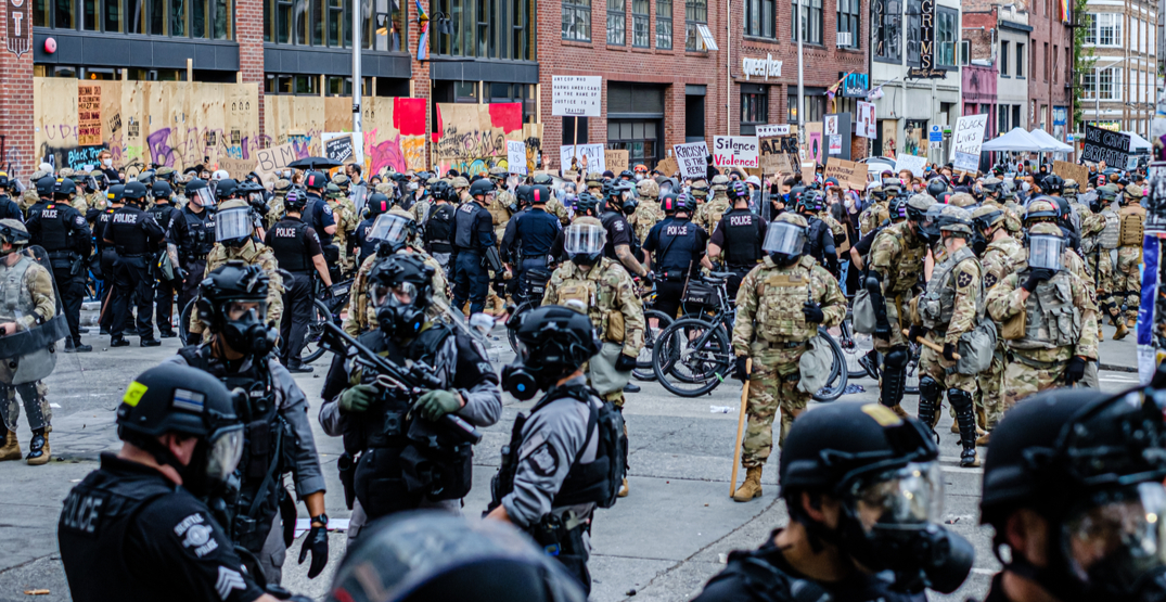 Federal forces have demobilized and left Seattle