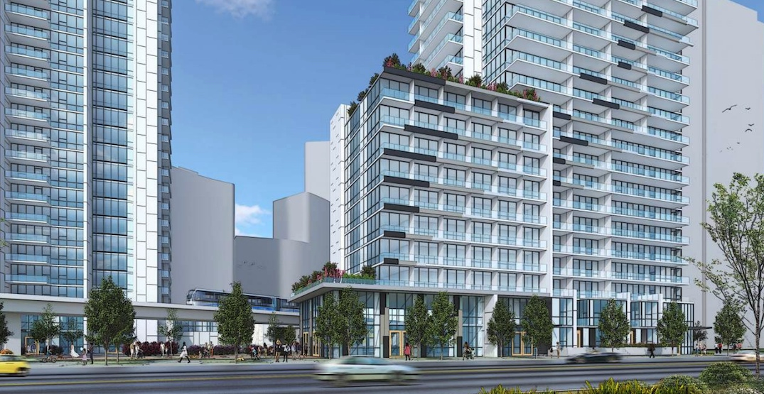 1,000 homes in three towers approved near SkyTrain's Surrey Central Station