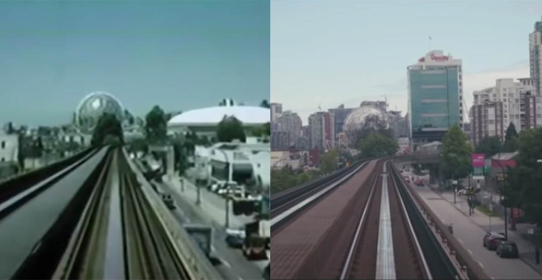 SkyTrain Then And Now: Expo Line ride in 1990 vs. 2020 (VIDEO)