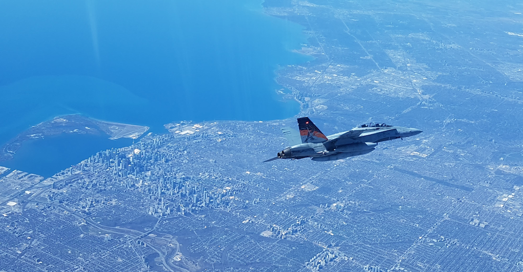 Canadian and US fighters jets to conduct defence drills over Toronto today