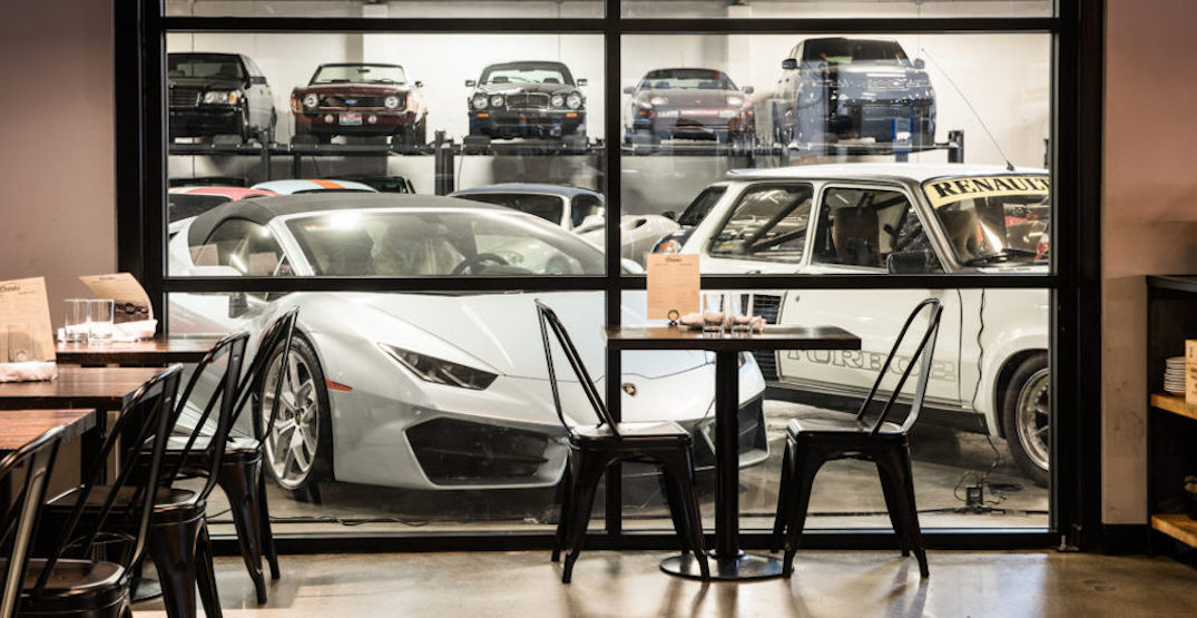 Feast beside classic and exotic cars at this Seattle restaurant (PHOTOS)