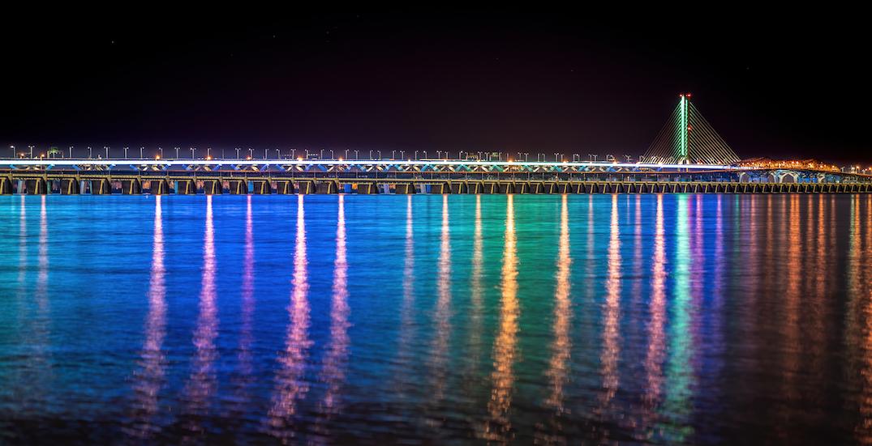 Samuel De Champlain Bridge to remain rainbow-lit for another month