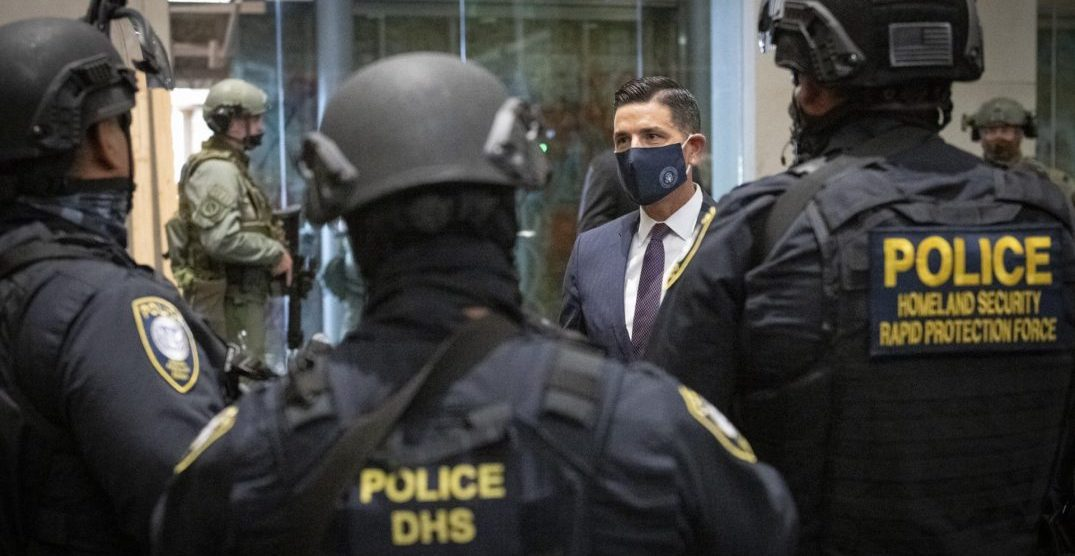 Homeland Security says Oregon State Police will replace federal presence
