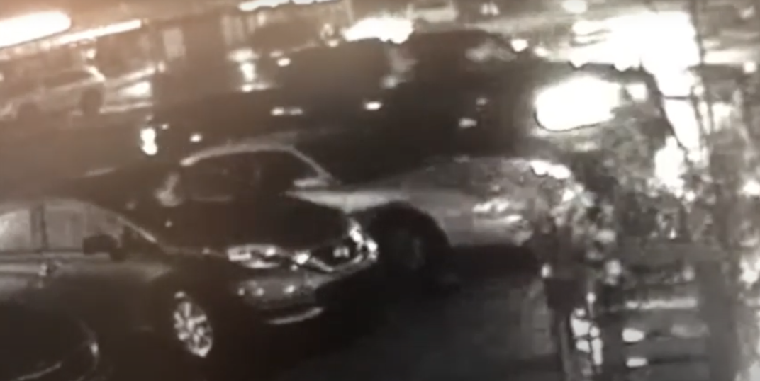 Edmonton Police release video of hit-and-run in shopping centre parkade