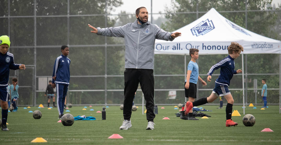 How Whitecaps kids soccer camps have adapted to the new normal