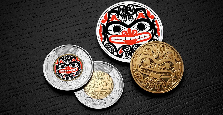 Royal Canadian Mint introduces new Bill Reid toonie