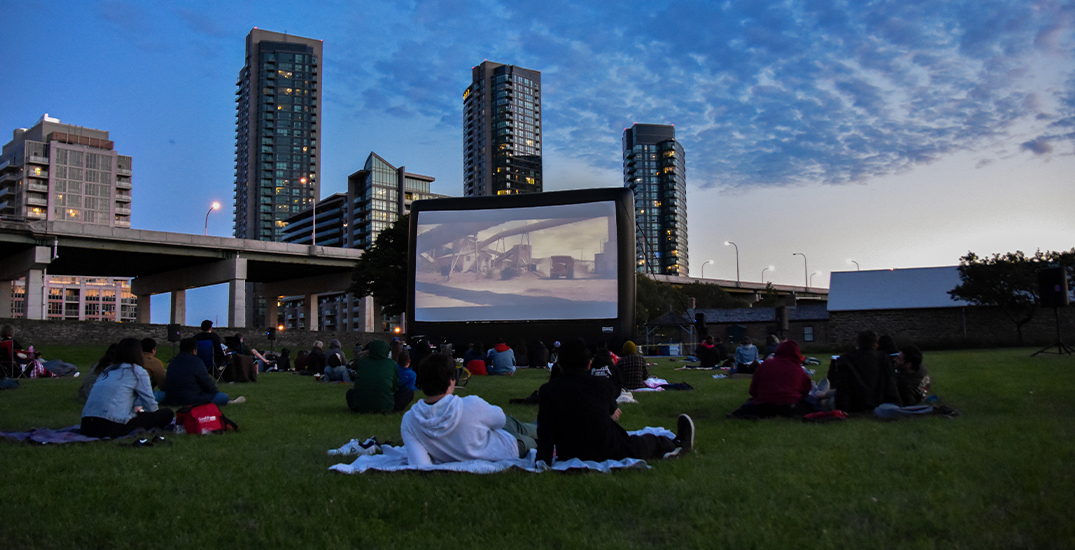Watch movies under the stars in Toronto this summer