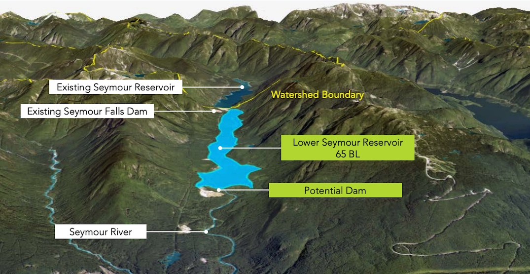 Metro Vancouver outlines options for new reservoir dams to increase water supply