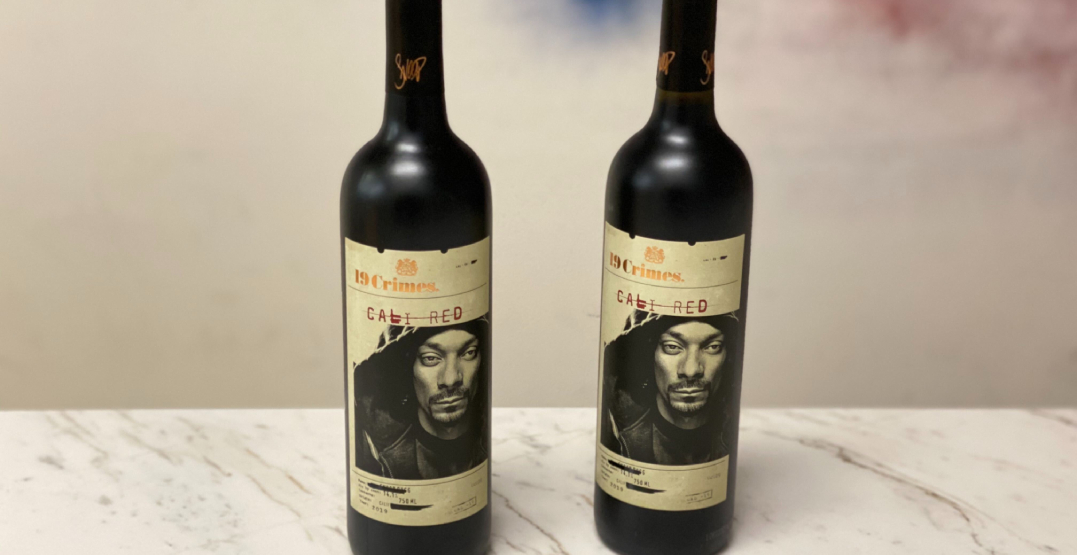 Snoop Dogg launched a wine and it's now available at LCBO locations