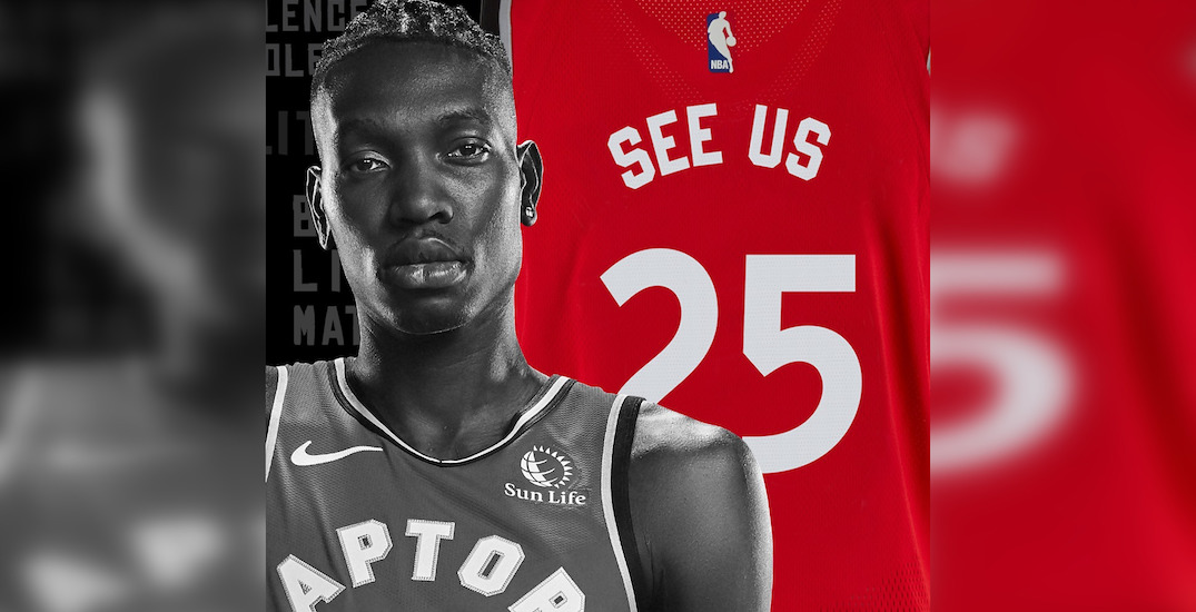 Raptors will return with personalized social justice statements on jerseys