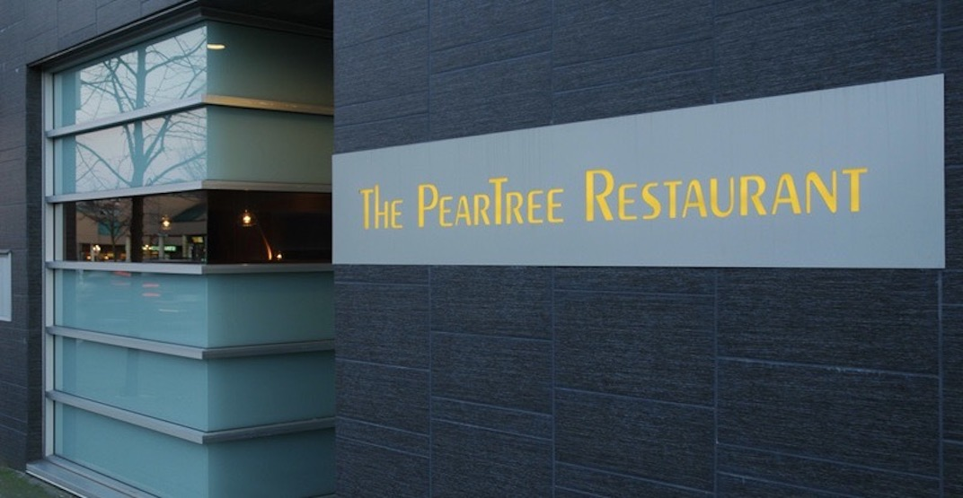 The PearTree Restaurant is closing after 23 years of operation