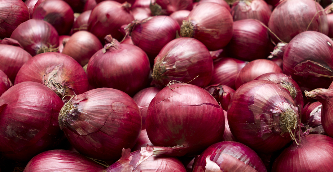 114 Canadians sickened by Salmonella outbreak linked to red onions