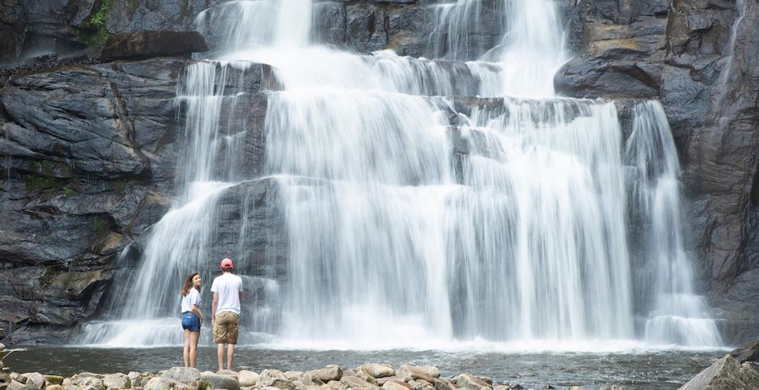 Check out these stunning waterfalls near Montreal this summer