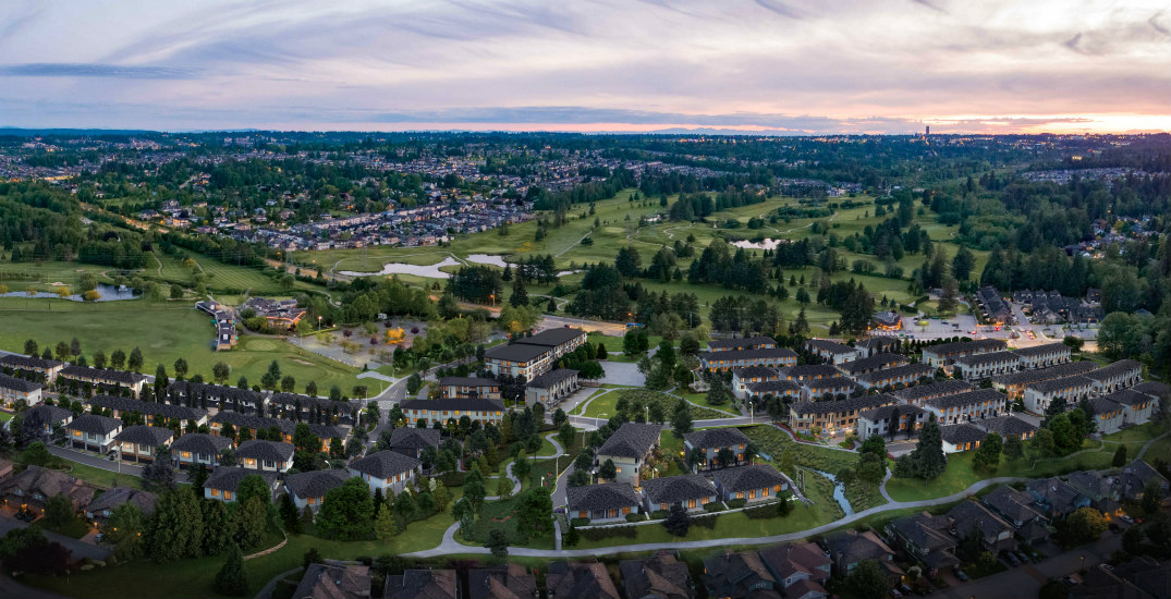 New Metro Vancouver townhome and duplex community set on acres of lush parkland