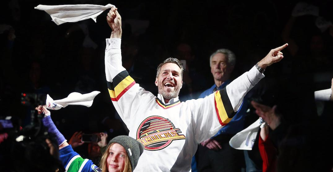 The Vancouver Canucks are selling playoff towels for charity