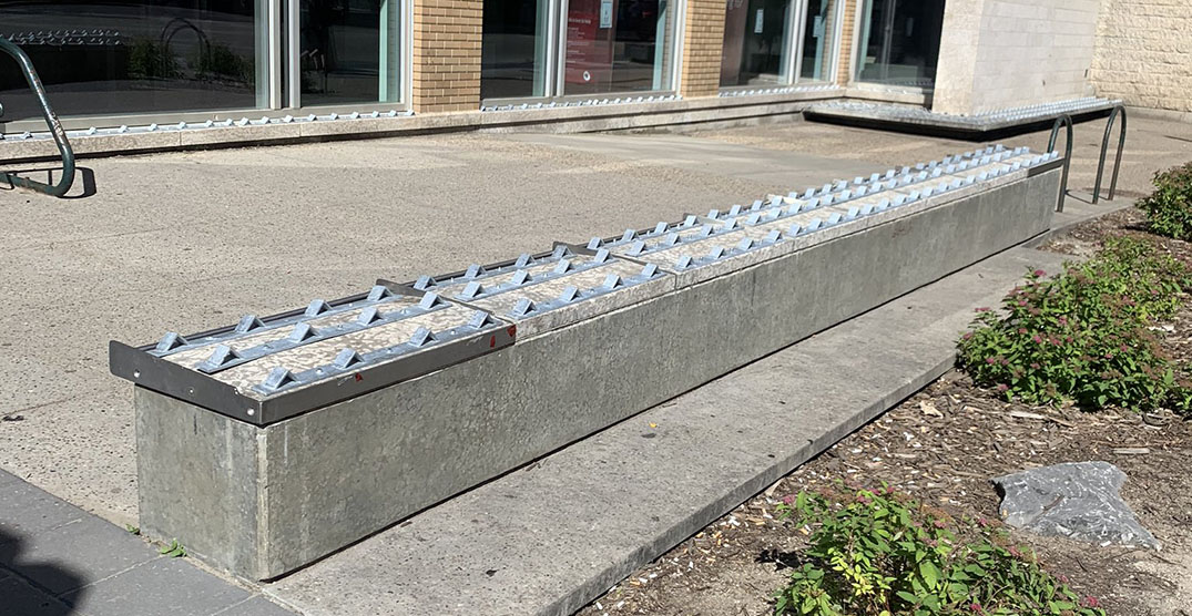 CIBC removes controversial anti-homeless spikes after public pressure