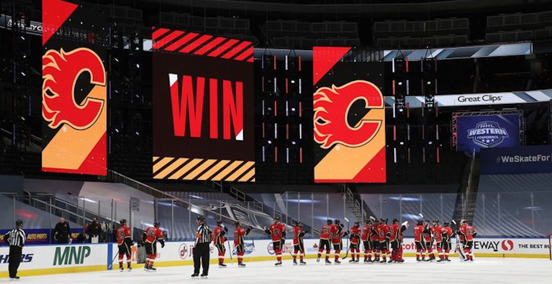 Flames special teams dominance secures Game 1 win against Jets
