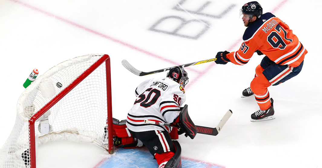 McDavid's hat trick leads Oilers to crucial Game 2 victory