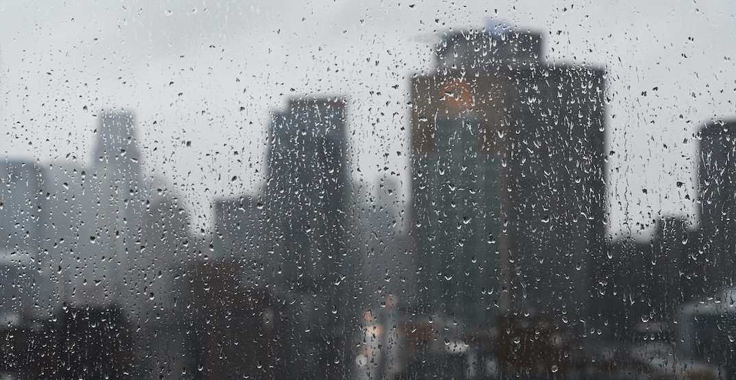 It's forecasted to rain for three straight days in Montreal