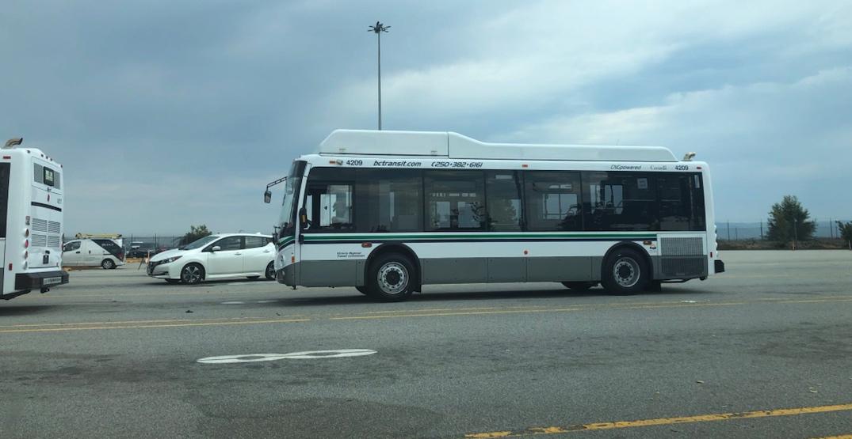 bc transit Grande West vicinity