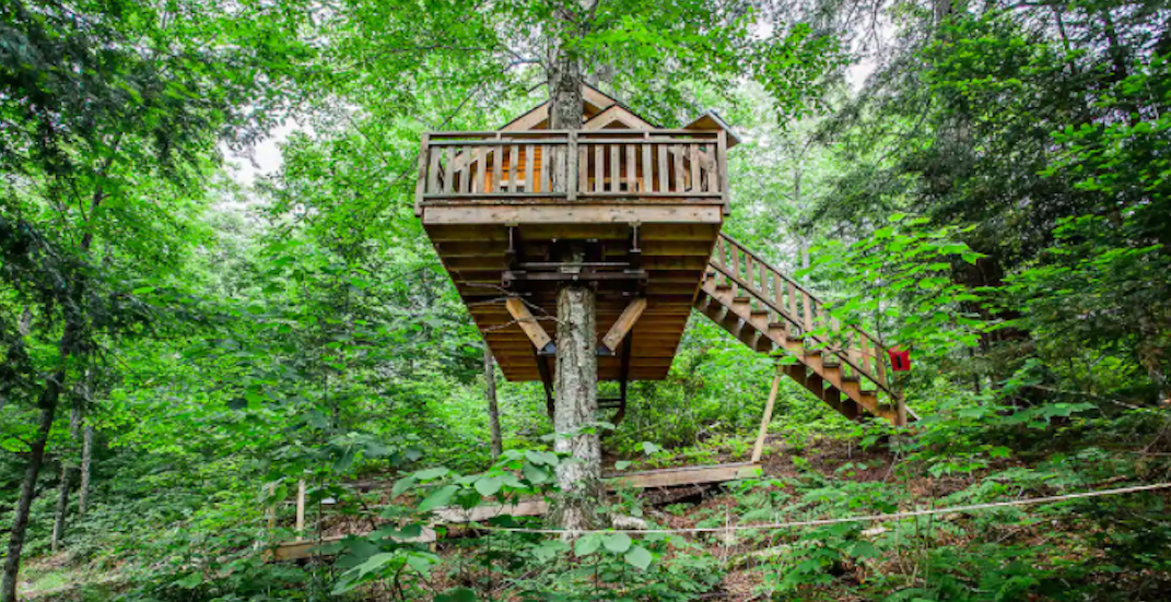 5 amazing treehouses you can rent outside of Montreal