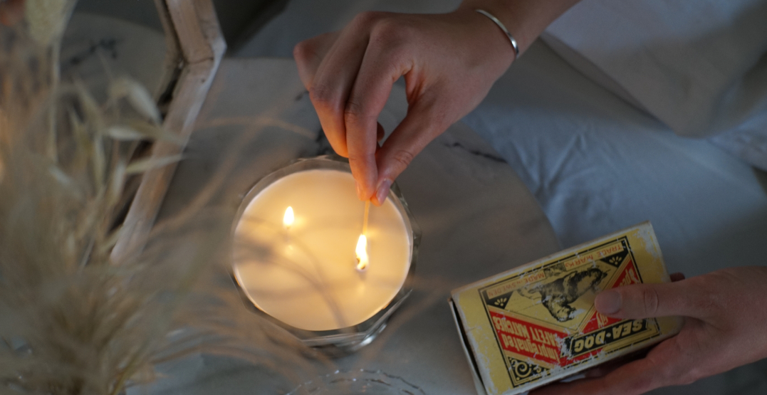 Local candle company turns vintage finds into treasures