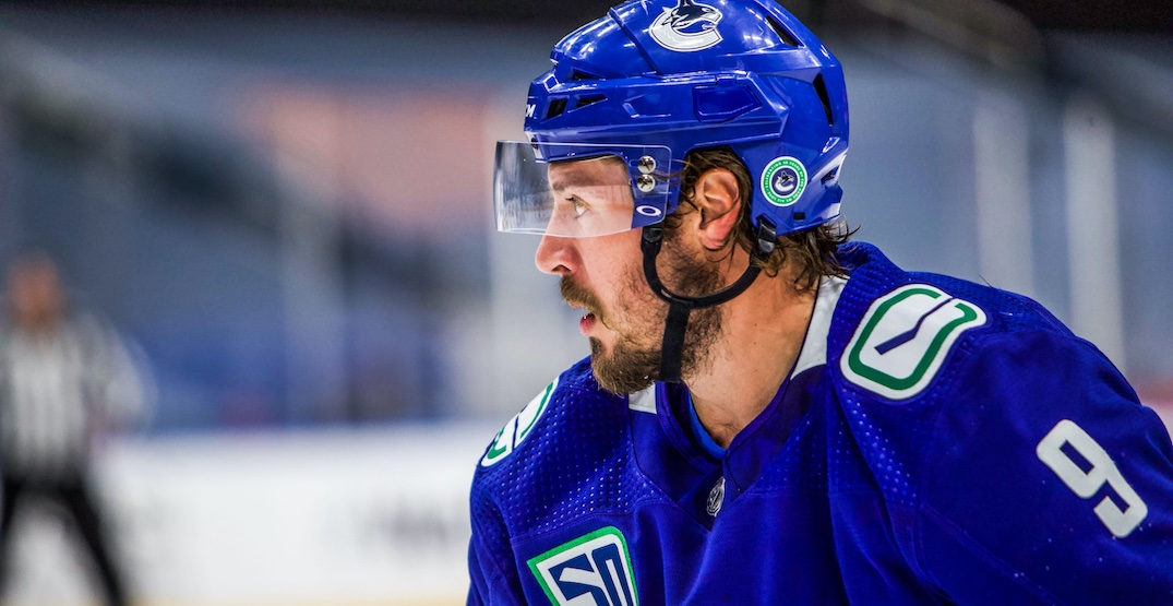 Canucks selling ad space on their helmets next season