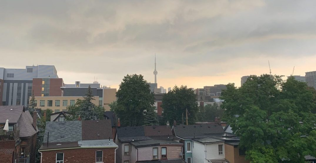 Tornado watch and severe thunderstorm warning currently in effect for Toronto
