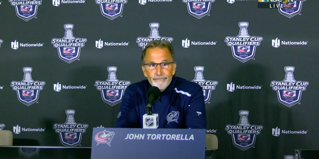 """Tortorella kept repeating """"Toronto was really good, we sucked"""" after loss to Leafs"""