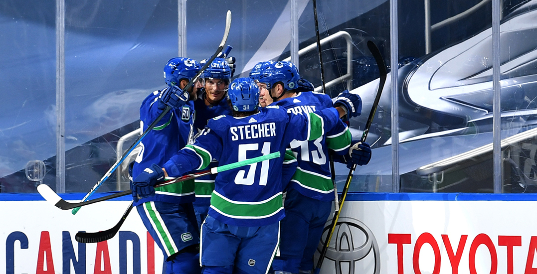 Canucks fans react to first postseason win in 1,930 days