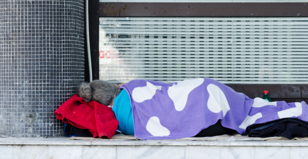 New figures show almost 2,100 people currently homeless in Vancouver