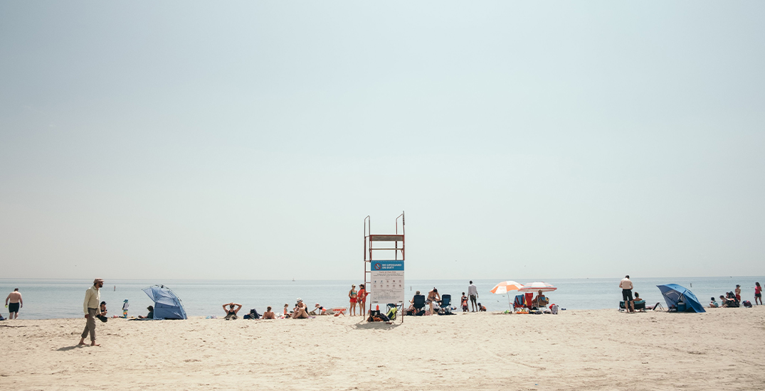 Five Toronto beaches are unsafe for swimming due to high E. coli levels