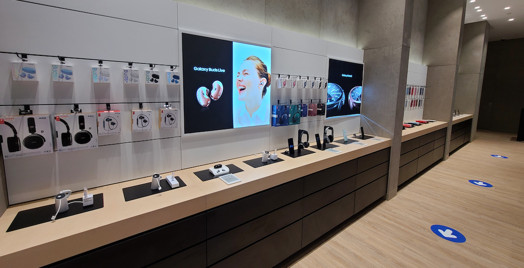 Quebec's first Samsung store is now open in Montreal