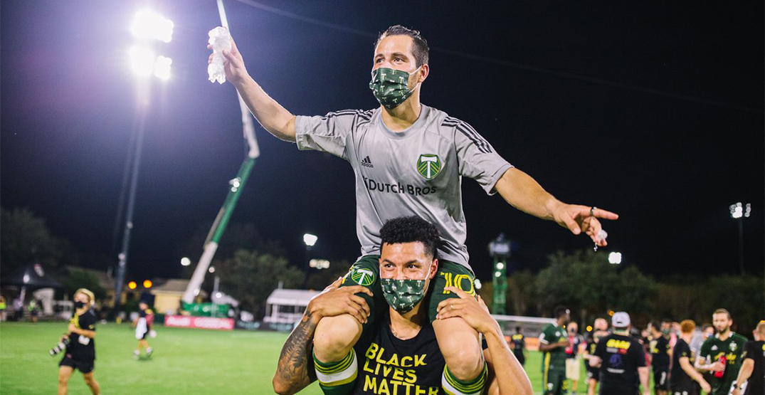 Timbers fans celebrate as Portland punches their ticket to MLS finals