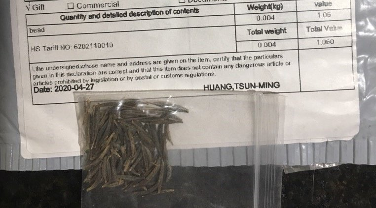 """Over 750 Canadians received """"unsolicited seeds"""" in the mail"""
