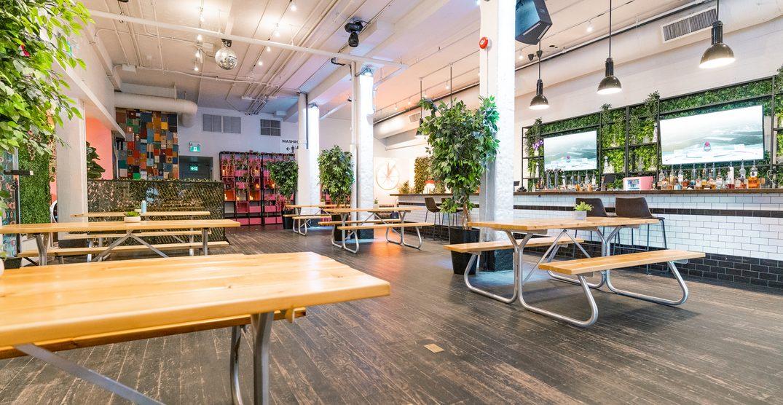 An indoor beer garden is opening in Toronto next week
