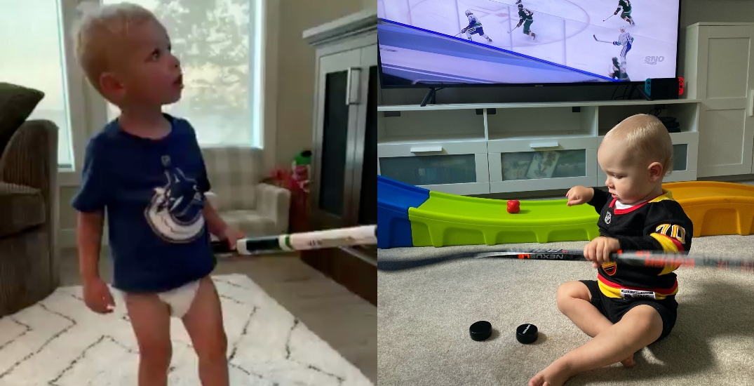 Canucks kids cheering on their dads on will melt your heart (VIDEOS)