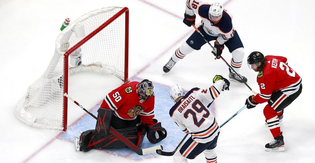 Oilers season comes to an end after upset loss to Blackhawks