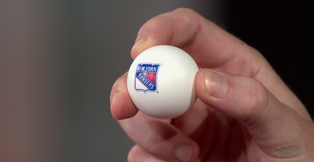 New York Rangers win the 2020 NHL Draft Lottery