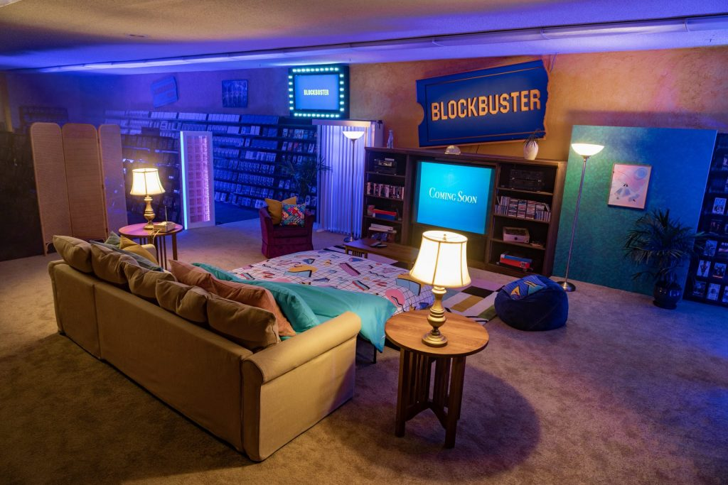 You can stay the night at The Last Blockbuster in Bend, Oregon